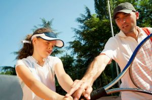 Private tennis lessons for children London
