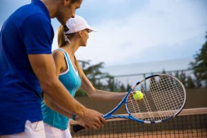 Private tennis lessons for adults London